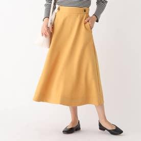 フレアナロースカート (サンドベージュ)