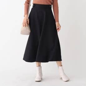 フレアナロースカート (ブラック)