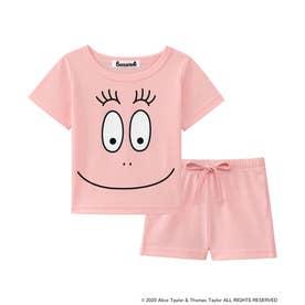 バーバパパ Tシャツ Kids 上下セット (ピンク/PI)