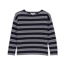 ブクティ 長袖Tシャツ (ダークネイビー)