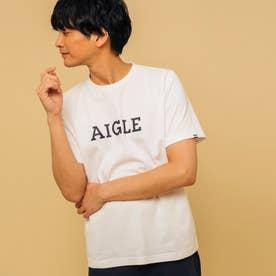 吸水速乾 グラフィック ロゴTシャツ (オフホワイト)