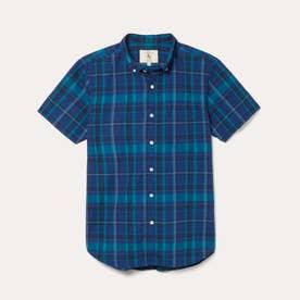 DFT カラーチェックシャツ (ネイビー)