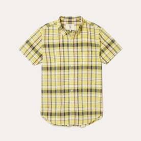 DFT カラーチェックシャツ (イエロー)