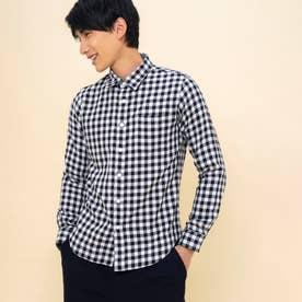 ブゾン リバーシブルL/Sシャツ (ネイビー)