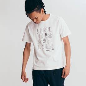 チャリティ グラフィック 半袖Tシャツ (ホワイト)
