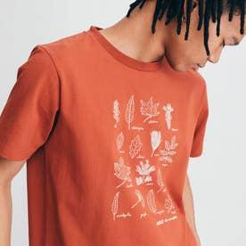 チャリティ グラフィック 半袖Tシャツ (ブリック)