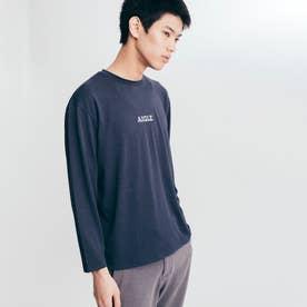 吸水速乾 ミニロゴ 半袖Tシャツ (ダークネイビー)