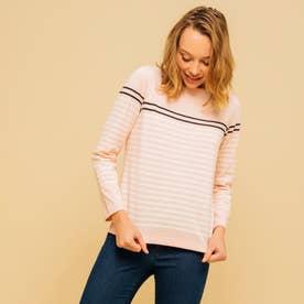 吸水速乾 バスク 長袖Tシャツ (ピンク)