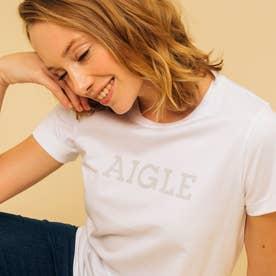 吸水速乾 グラフィック ロゴTシャツ (ホワイト)