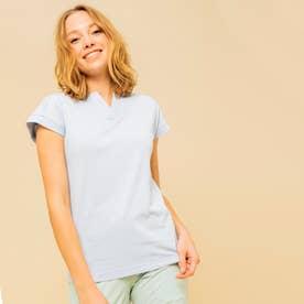 吸水速乾 オクロ Tシャツ (ライトブルー)