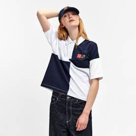 ラダバ ポロシャツ (ホワイト×ブラック)
