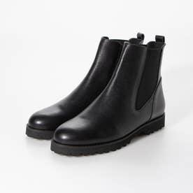 【晴雨兼用】サイドゴアショートブーツ (BL)
