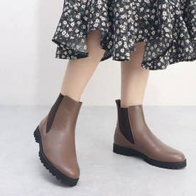【晴雨兼用】サイドゴアショートブーツ (OK)