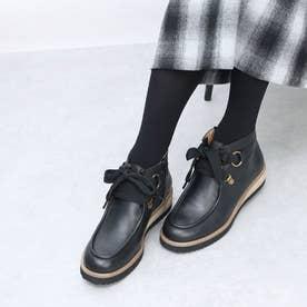 ボロネーゼ使用厚底ブーツ (BL)