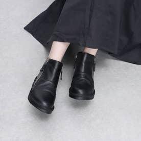サイドジップショートブーツ (BL)