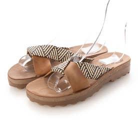 【Fantasy Sandals】ミュール (DBR)