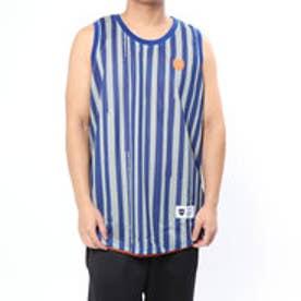 バスケットボール ノースリーブシャツ BRUSH STRIPE REVERSIBLE TANK 218-057001