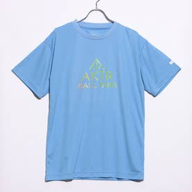 バスケットボール 半袖Tシャツ BALL PARK TEE 220-059005 (ブルー)