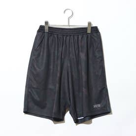 バスケットボール ハーフパンツ B.BALL TEXTURE CAMO SHORTS 220-013002 (ブラック)