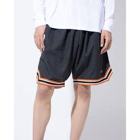バスケットボール ハーフパンツ HOUND'S TOOTH CHECK SHORTS 220-003002 (ブラック)