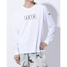 バスケットボール 長袖Tシャツ LOGO L/S TEE 220-004005 (ホワイト)