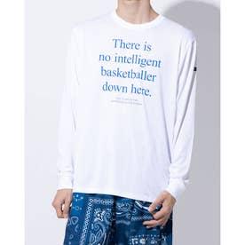バスケットボール 長袖Tシャツ BALLER UNION L/S SPORTS TEE 220-010005 (ホワイト)