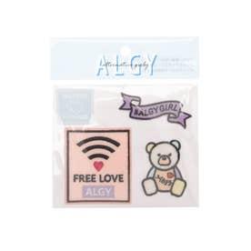 Wifiワッペンセット 3P (ピンク)