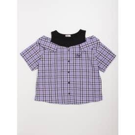ドッキングシャツ (ラベンダー)