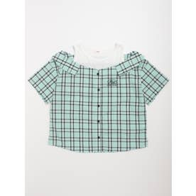 ドッキングシャツ (ミント)