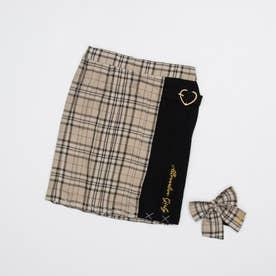 フレッシャーズスカート&りぼんタイセット (ベージュ)