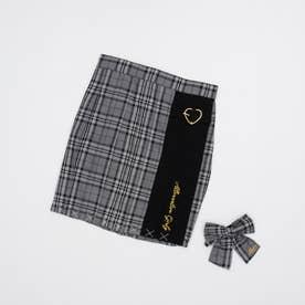 フレッシャーズスカート&りぼんタイセット (グレー)
