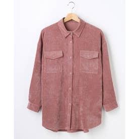 ライスコールBIGシャツ (ピンク)