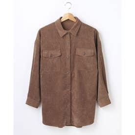 ライスコールBIGシャツ (ブラウン)
