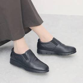 glitter 本革カジュアルシューズ (ブラック)
