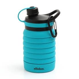 オールオルン折りたためる水筒 (ブルー)
