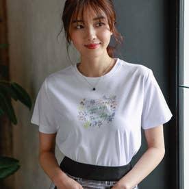 NOZOMI YUASAコラボロゴ半袖Tシャツ (オフホワイト)