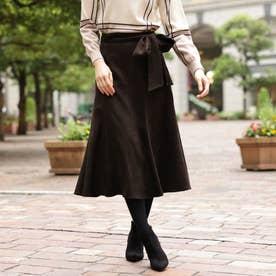 スウェードジャージースカート (キャメル)
