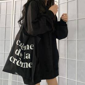 生地が選べる ワイドアームビッグパーカー 韓国ファッション 春 夏 秋 冬 パーカー (ブラック(起毛))