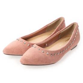スタッズ フラット バレリーナ H0173K00084Pink (ピンク)