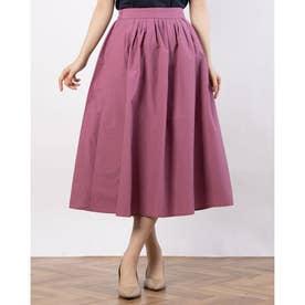 フロントタックギャザースカート① (Pink)