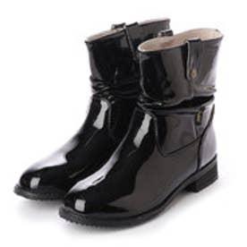 サイドベルトショートブーツ (雨天兼用) (BLK)
