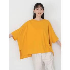 ポンチョ風BIGカットプルオーバー (オレンジ)