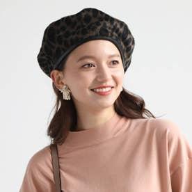 ダブルフェイスベレー帽 (ベージュ)