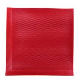 卓球 ラバー(表ソフト) ヘキサーピップス 厚さ:1.9/赤 112272