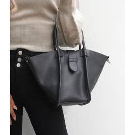 ポーチ付きデザインバッグ(ブラック)