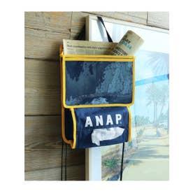 【HOME】 ANAPロゴカーポケット (ネイビー(018))