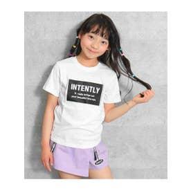 ボックスロゴTシャツ (ホワイト(001))