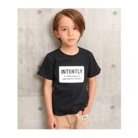 ボックスロゴTシャツ (ブラック(027))