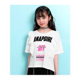 【GiRL】 フリルデザイントップス (ホワイト(001))
