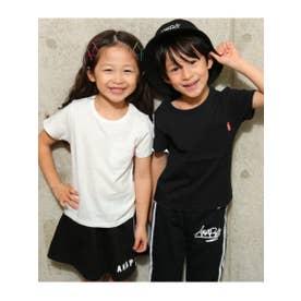 【KIDS】 シンプルポケットTシャツ (ホワイト(001))